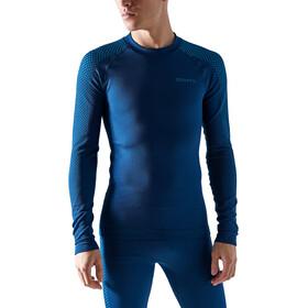 Craft ADV Warm Fuseknit Intensity Top z długim rękawem Mężczyźni, niebieski